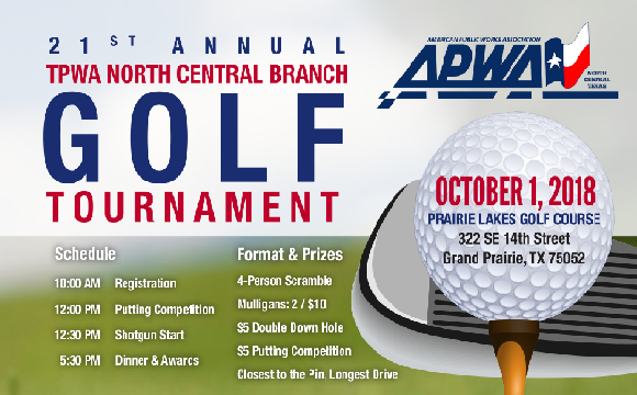 Register now for our 2018 Branch Golf Tournament